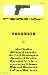 browning hi power assembly disassembly owner s manual 9780949749598 rh ebay com Accuphase Assembly Manuals L Gz358pst 1 Assembly Manual