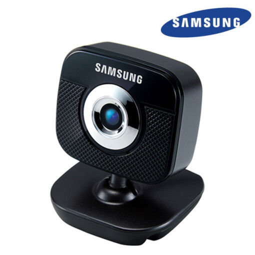 Samsung SPC-A1200MB 30M Pixel USB PC Camera Web Cam Built in Microphone-Tracking
