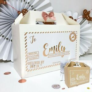 PERSONALISED-CHRISTMAS-EVE-BOX-NORTH-POLE-FOIL-XMAS-FAVOUR-BOXES