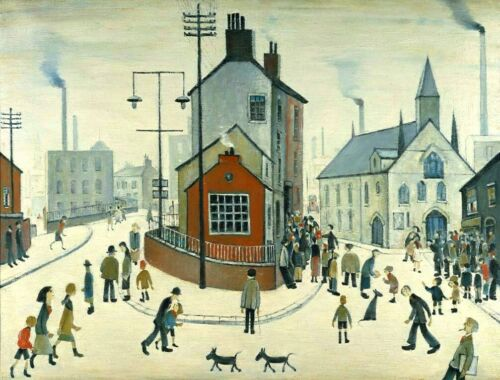MEDICI POSTCARDS A Street in Clitheroe L S Lowry