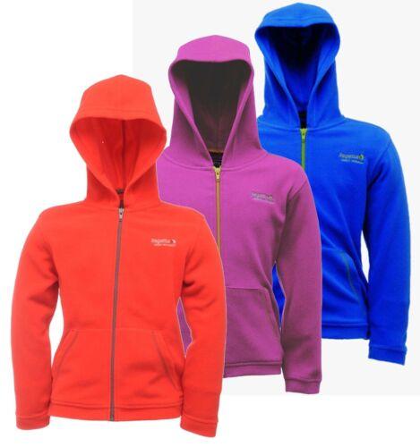 Regatta Chad Boys Girls Kids Warm Cosy Mid Layer Fleece Jacket