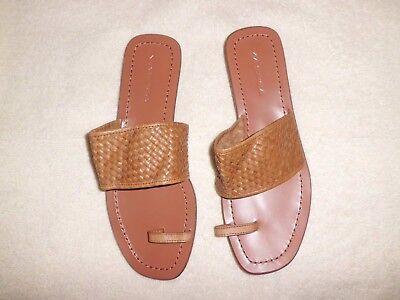 NEW Via Spiga Leather Sandals Shoes
