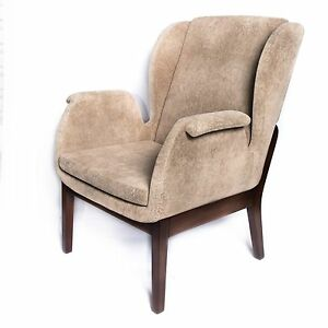 Terrific Details About New Modern Contemporary Fabric Upholstery Relax Accent Chair In Beige Creativecarmelina Interior Chair Design Creativecarmelinacom