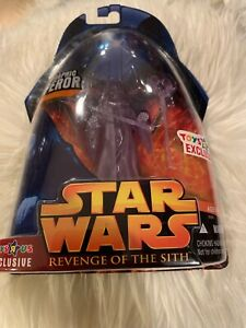 Holographic Emperor Star Wars Revenge Of The Sith Figure 2005 Ebay