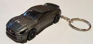 Hotwheels-Nissan-GT-R-r35-Llavero-Automovil-De-Fundicion