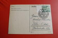 Postkarte- III Reich*Sonderstempel 1940/Köln *