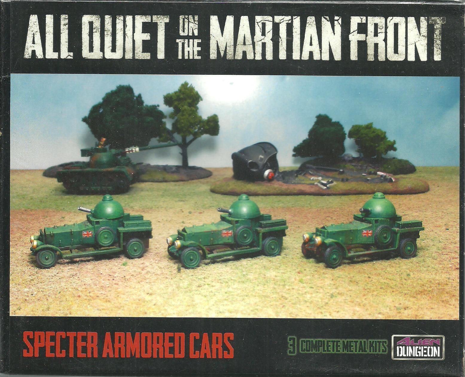 Aqmf bf007 specter armoured cars for aqmf, alien dungeon, new