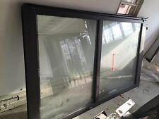 COMMERCIAL STOREFRONT SLIDING GLASS DOORS DOOR NABCO GYRO TECH STORE FRONT