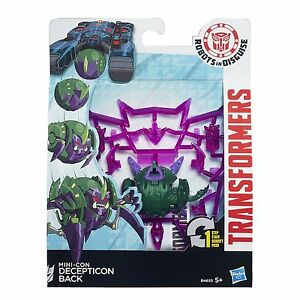 Transformers Robots in Disguise Mini-détenu expérimentés CRAZYBOLT et Decepticon...