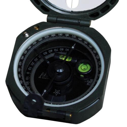 MFH US Kompaß M2 Orientierungshelfer im Kunststoffgehäuse Maße 7 x 7 cm oliv