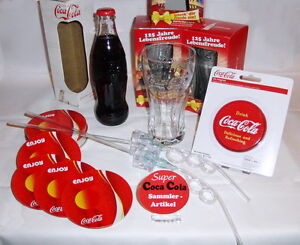 coca cola 11teilig gl ser untersetzer cc flasche retro. Black Bedroom Furniture Sets. Home Design Ideas