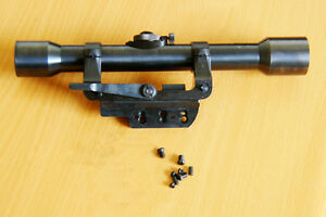 Details about Mauser K98 Sniper ZF39 Scope & Side Mount Reproductions All  Steel RSM