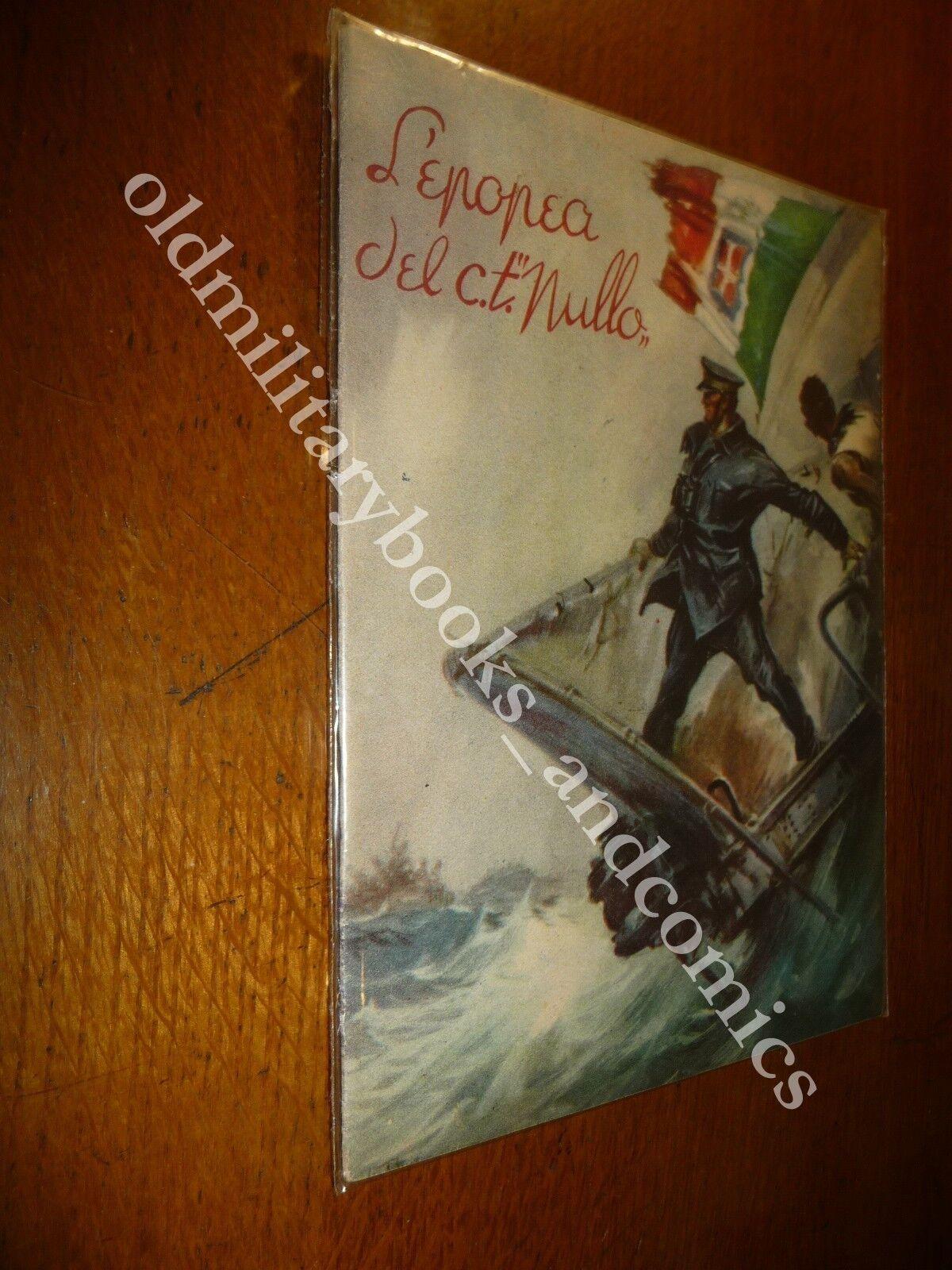 L'EPOPEA DEL C.T. NULLO GIUSEPPE VINGIANO VOLUME IN OTTIME CONDIZIONI