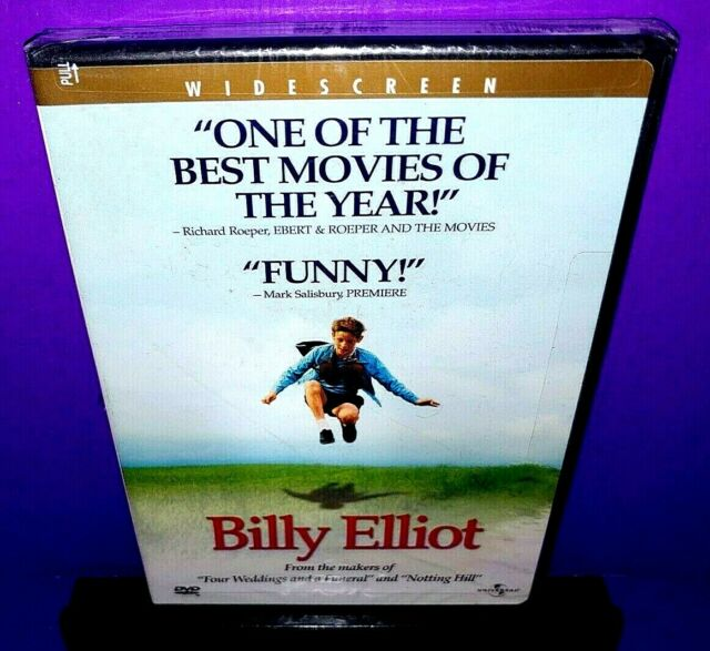 Billy Elliot (DVD, 2001) Julie Walters,Gary Lewis Brand New B547