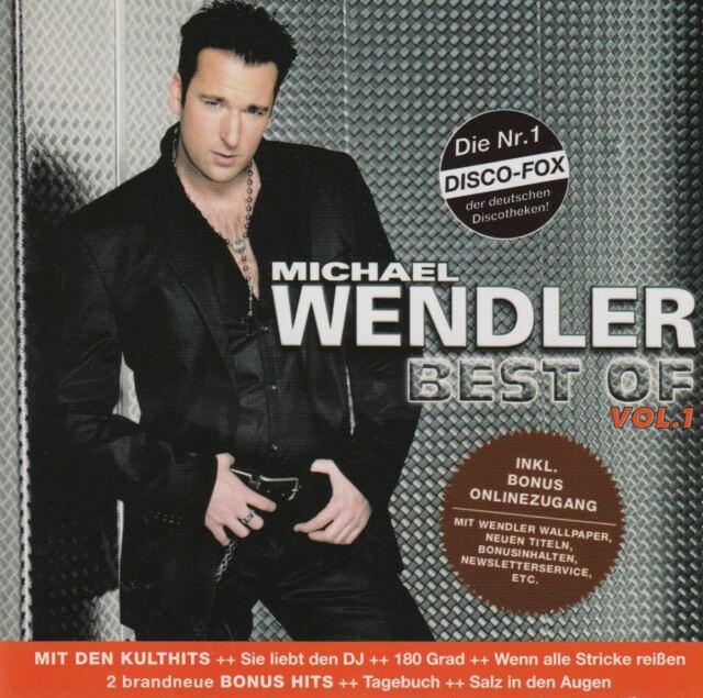 MICHAEL WENDLER Best Of  - Vol. 1 CD Album 2007 WIE NEU Sie Liebt Den DJ Pop Hit