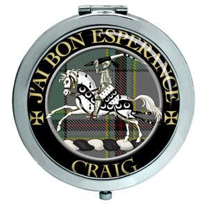 Craig Französischer Schottische Clan Kompakter Spiegel