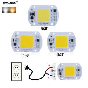 New-Smart-IC-Driver-LED-light-Bulb-COB-Chip-110V-220V-Input-Integrated20-30-50W