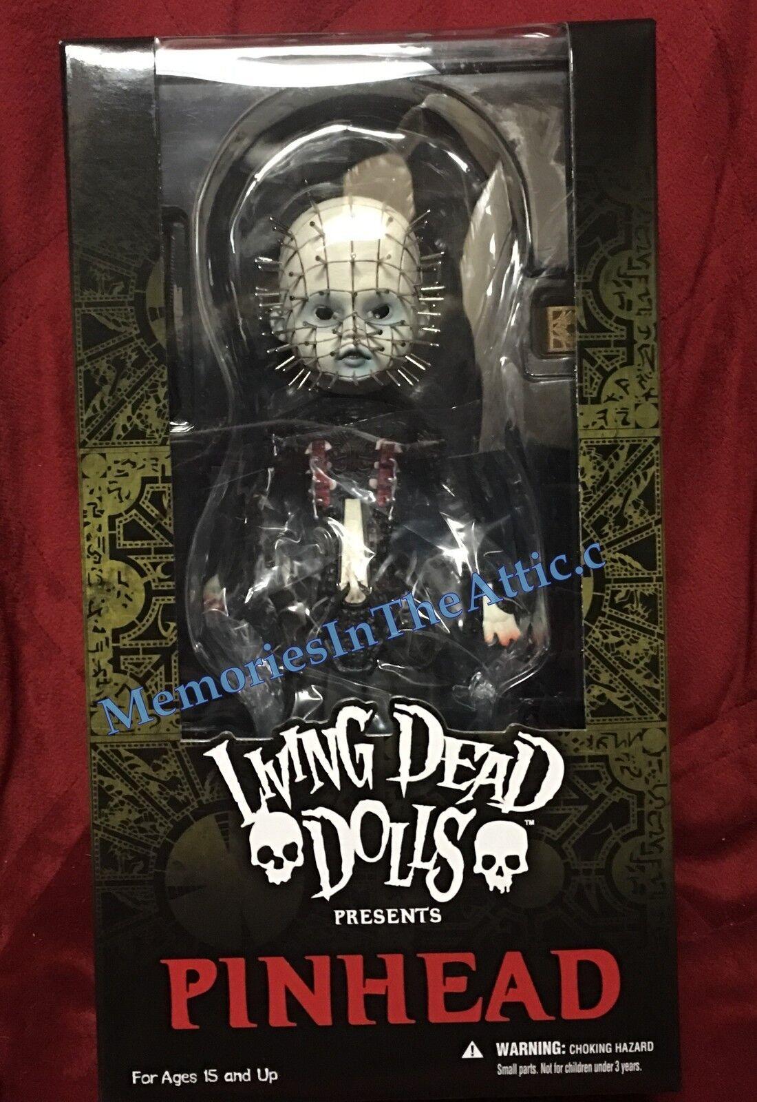 Mezco Toyz Living Dead Dolls Hellraiser 3 Pinhead Cenobite 10  Doll Lament Saws