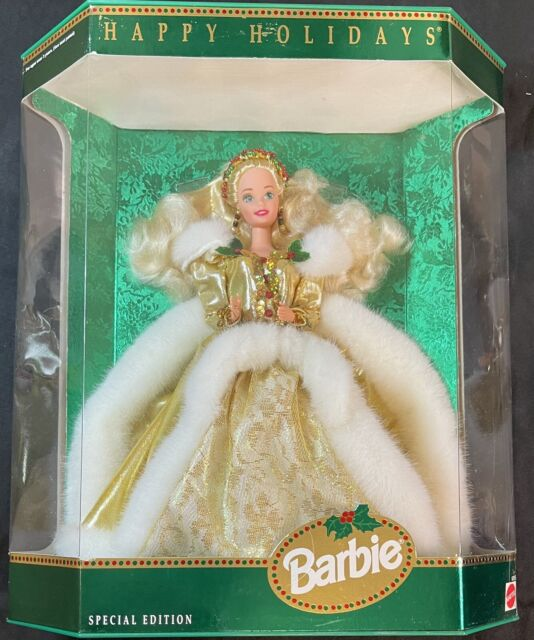 1994 Happy Holidays Barbie Doll Special Edition #12155