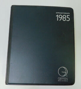 Appointments Geffen Promo Xmas 1985 4 Cassette Tapes Joni Mitchell Elton John