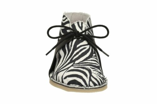 donna stampa bianco Zebra Clarks tessuto nero 4 oceano in UK Stivali africano CEWcqnt6