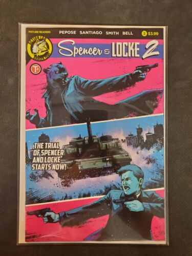 Spencer /& Locke 2 #2 B Cover AFTERSHOCK VF//NM Comics Book