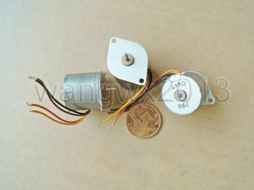 2PCS DC6V 2-Phase 4-Wire 20mm Stepping Motor Step Stepper Motor for DIY Parts