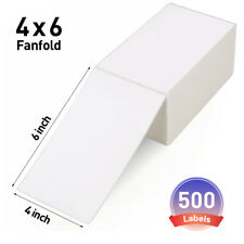 4x6 Direct Thermal Shipping Labels Self Adhesive 500 Postage Mailing Labels
