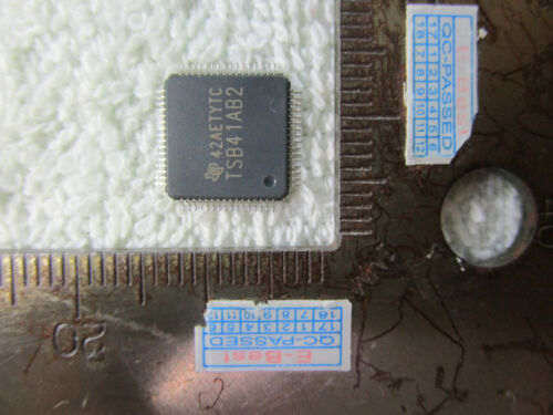 5pcs TSB41AB2PAP TS841AB2 TSB4IAB2 TSB41A82 TSB4IA82 TSB41AB2 TQFP64 IC Chip