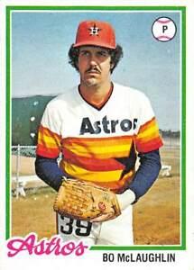 trading card Topps ASTROS 1978 BO McLAUGHLIN  #437