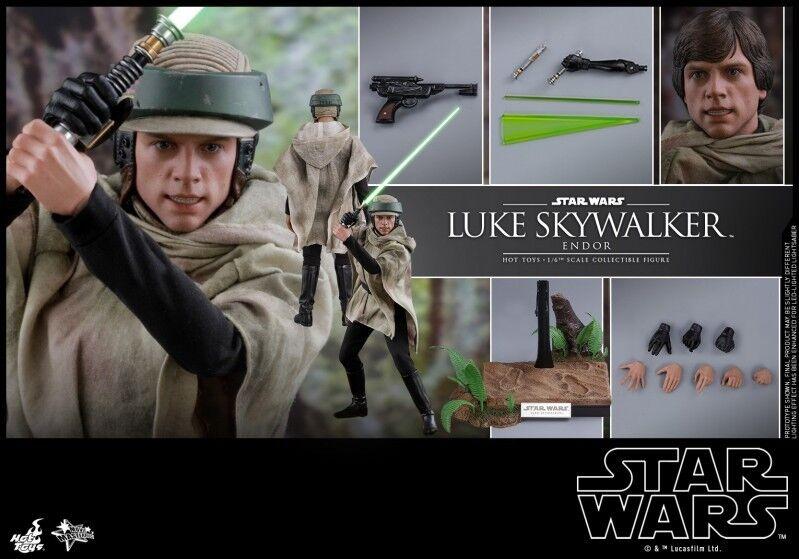 Hot Toys MMS516  1 6 Star Wars Luke Skywalker Endor version Action figure  livraison gratuite