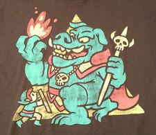 Nintendo Legend of Zelda Large Retro Style Shirt Ript TeeFury Punch Link Gannon