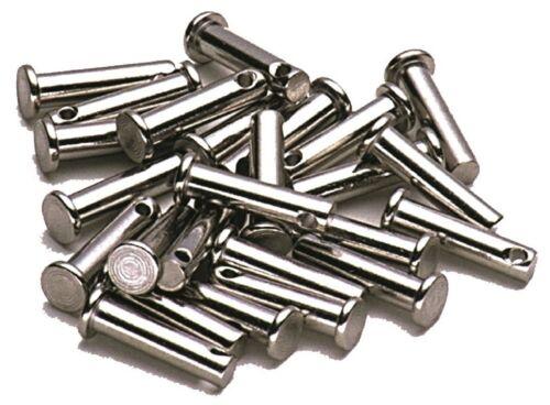 Sprenger Nieten DIN1434 mit Querbohrung im 5er Pack Splintbolzen Steckbolzen