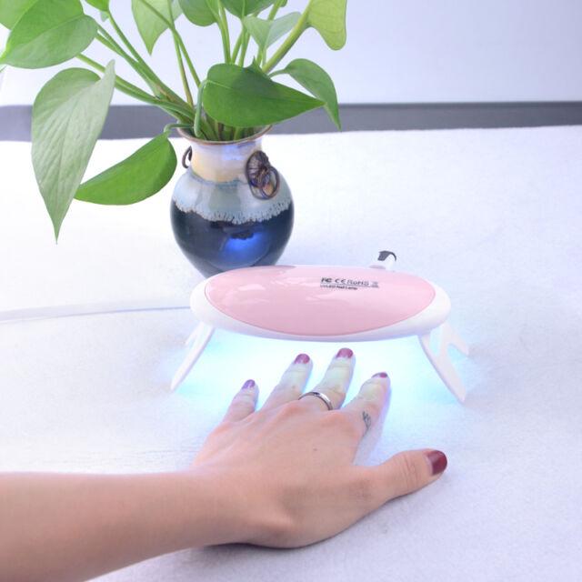 SUNUV Sunmini 6w LED UV Nail Dryer Curing Lamp Light Portable for ...