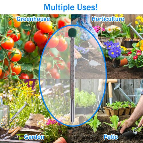 Thermomètre de sol 210 mm jardin compost Propagator la croissance des plantes graines 3 13//417