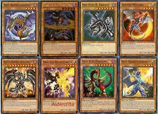 Yugioh Chaos Dragon Deck - 40 Cards + 3 XYZ - Red-Eyes Darkness Metal, Darkflare