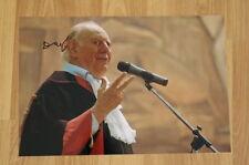 ORIGINAL Autogramm von Dario Fo. pers. gesammelt 20x30 Foto 100% Echt NOBELPREIS