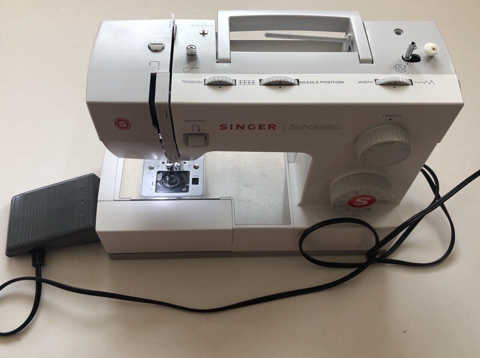 s l1600 - Singer 5523 Scholastic Heavy Duty Sewing Machine Please Read Description