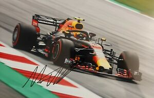 MAX VERSTAPPEN Red Bull Formel 1 Foto 20x30 signiert IN PERSON Autogramm signed
