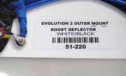 Enduro Engineering Replacement EVO2 Plastic Debris Roost Deflectors White 51-220
