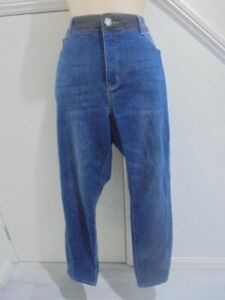 ROCKMANS-SIZE-18-BLUE-DENIM-STRETCH-JEANS-039-039-PERFECT-AS-NEW-034