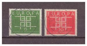 BRD-Europa-MiNr-406-407-1963-used