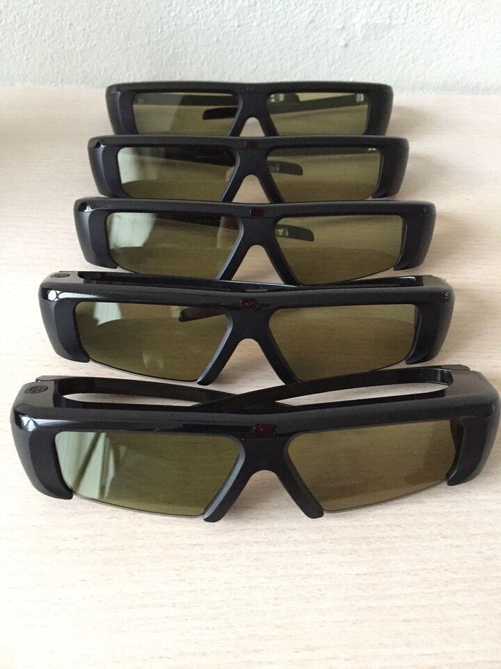 3D Briller til TV, Samsung, Perfekt