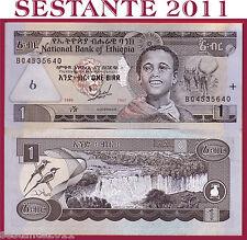 ETHIOPIA / ETIOPIA - 1 BIRR  1989 ( 1997)   - P 46a    - FDS / UNC