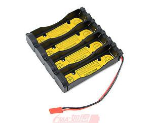 Protected Holder Case for 4S1P 14.8v 14.4v 18650 Li-ion Battery Charge/Discharge