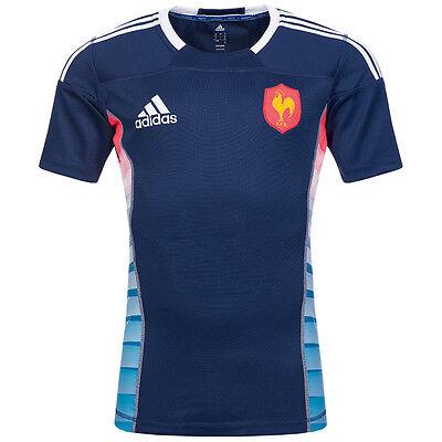 Frankreich adidas Rugby Trikot FFR Spielertrikot Z38842 Herren Player Jersey neu
