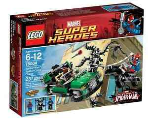 Lego® Marvel Super Heroes 76004 Spider-man ™ - Jaguène à cycle araignée