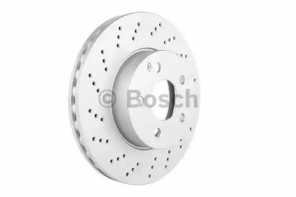 Bosch 0986479331 Eje Delantero Disco de Freno Set Recambio 197 423 01 12
