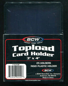 25-ACEO-ATC-Artwork-Rigid-3-x-4-Black-Border-Top-Loader