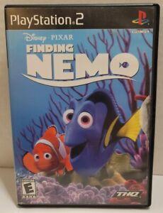Finding Nemo PS2 Disney Pixar CIB Manual Playstation 2 Game Complete